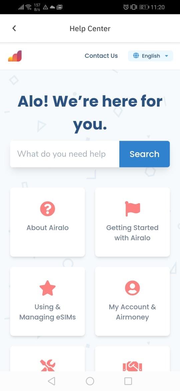 utilizar la app airalo